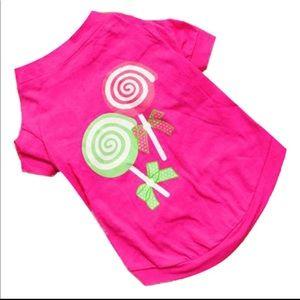 Pink Princess lollipop 🍭 Doggie 🐶 shirt